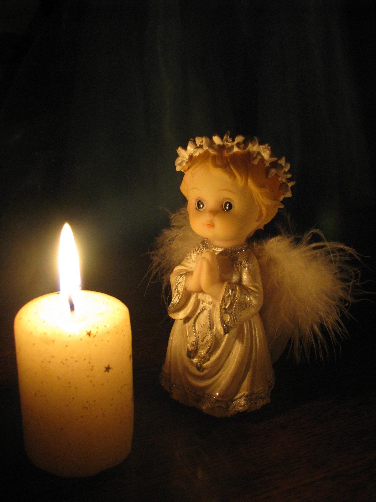 свечи с ангелами картинки конечно
