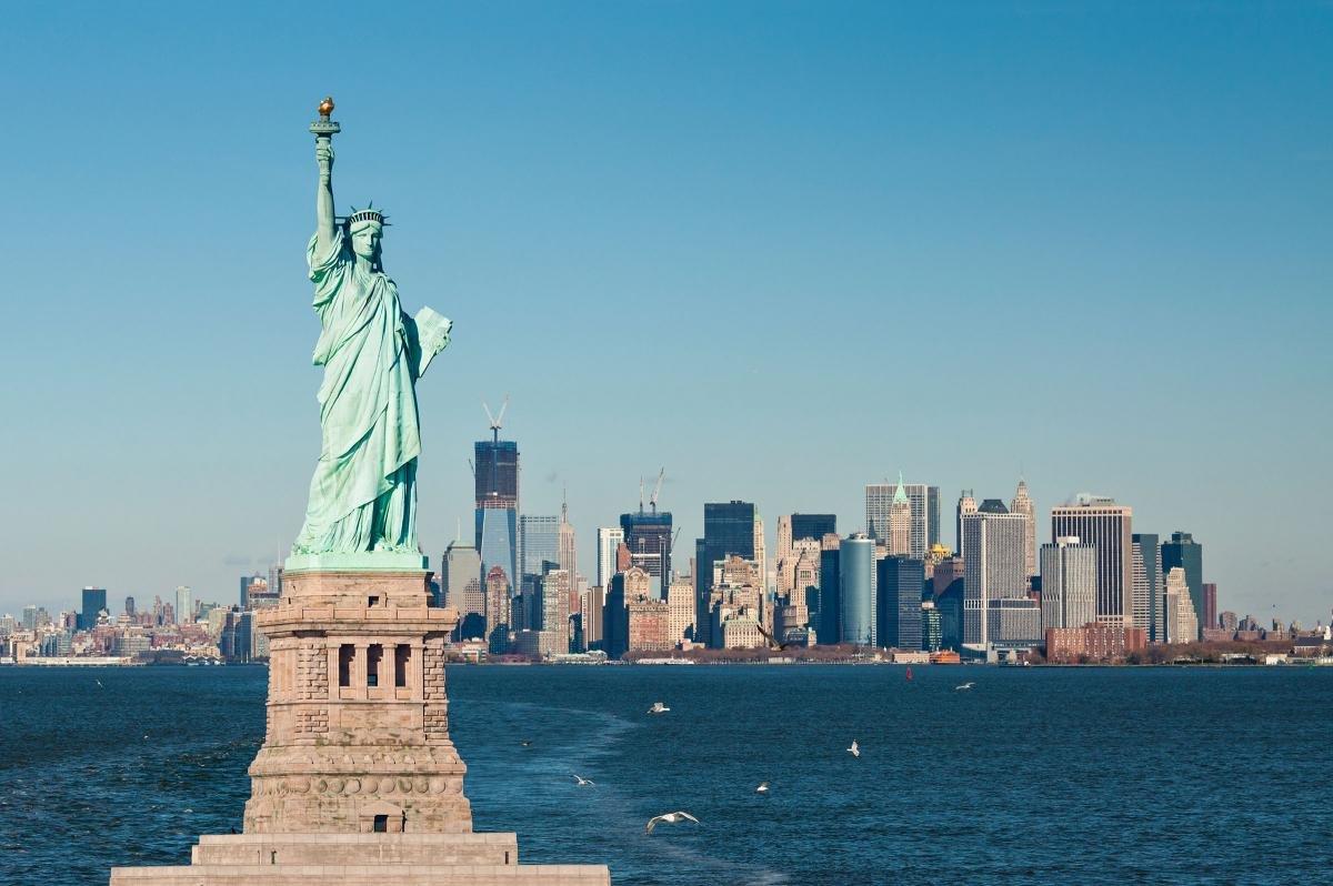 Песнями, картинки нью йорка статуя свободы