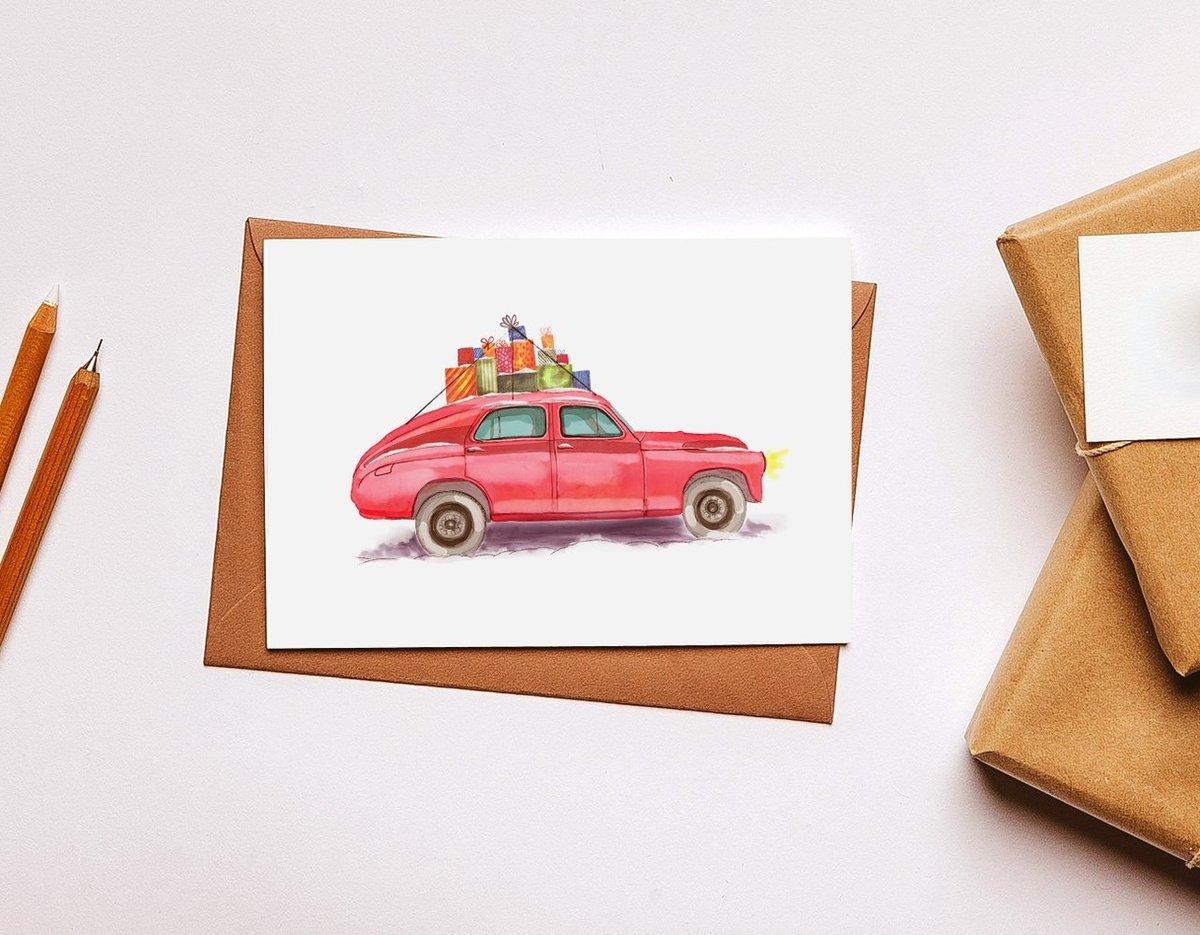 Открытки белка, как сделать открытку машину