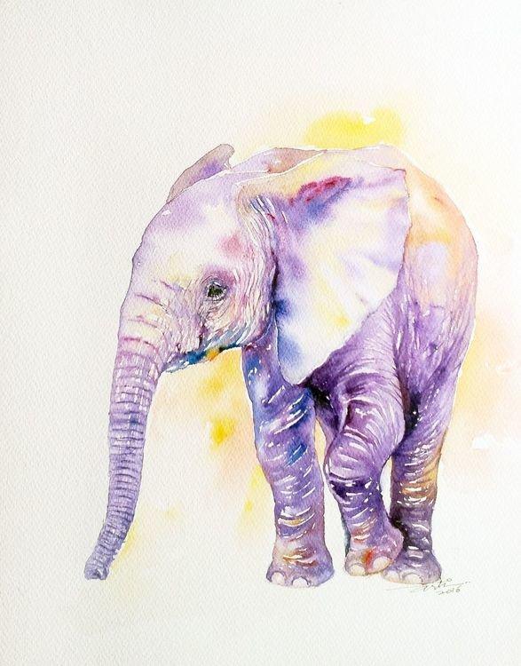 Картинки, картинки со слонами нарисованные