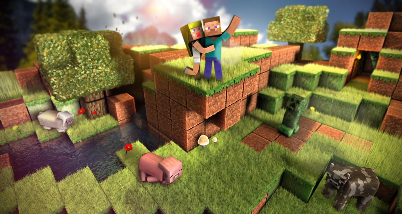Fond D Ecran Minecraft Personnalisable