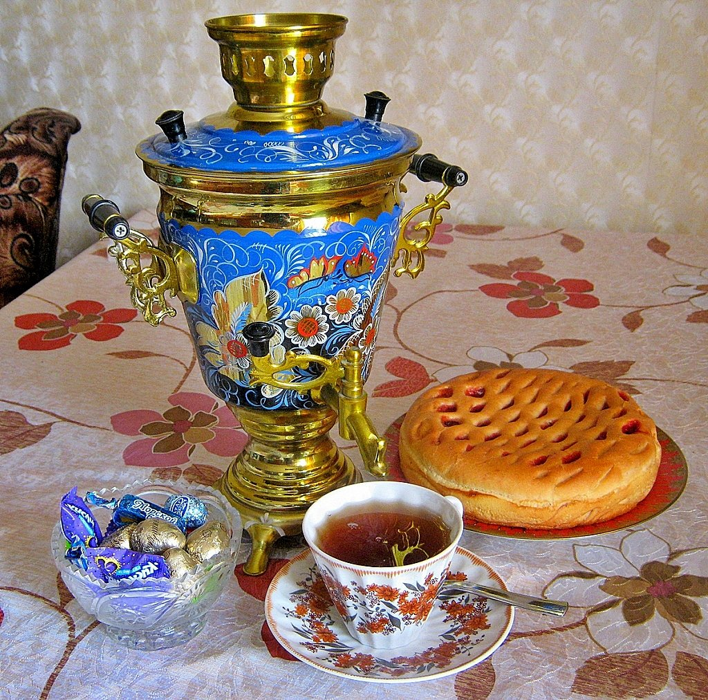 Самовар и чаепитие картинки