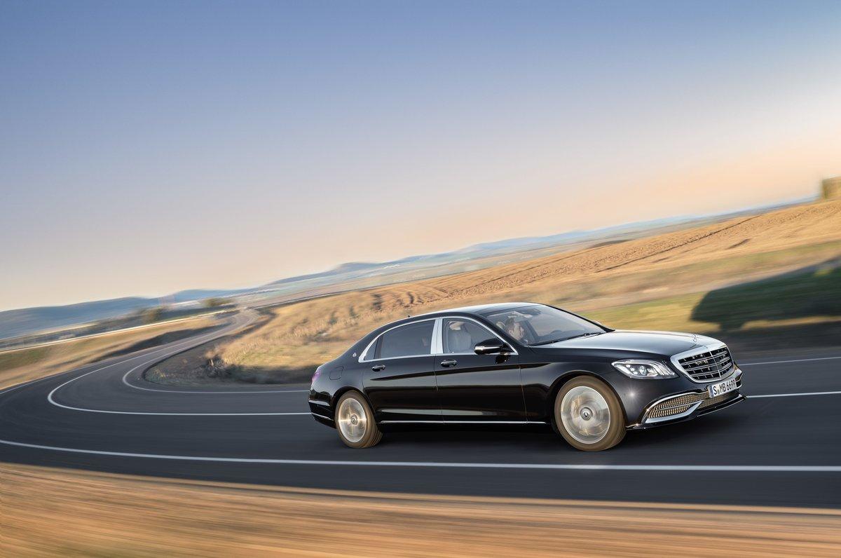 2018 Mercedes Benz S Cl Maybach Фото о