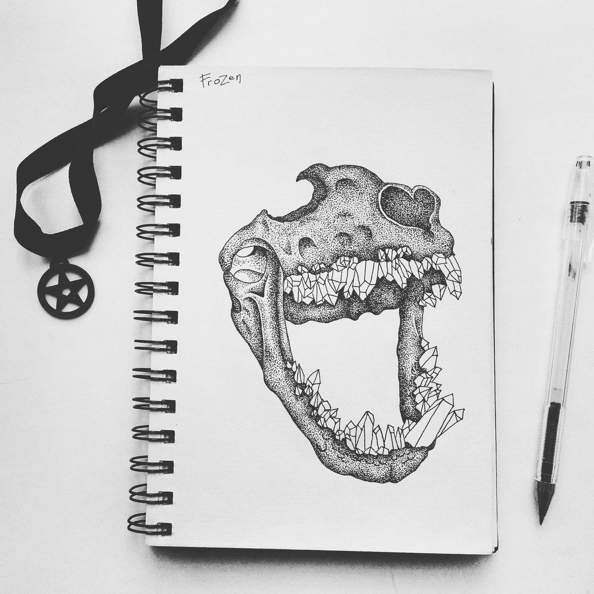 Прикольный рисунок гелевой ручкой, юрмале