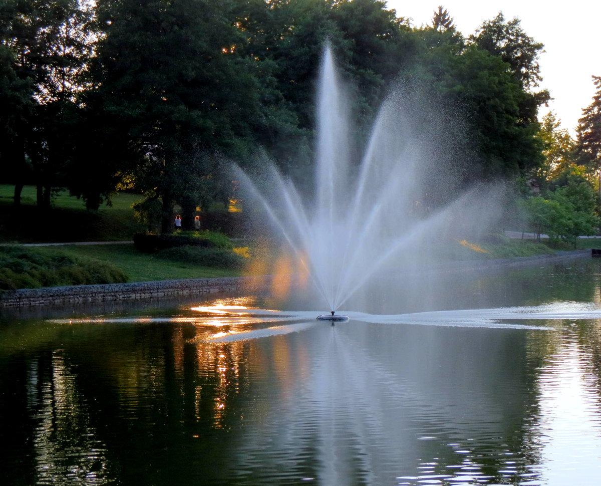 картинки фонтана природа своё
