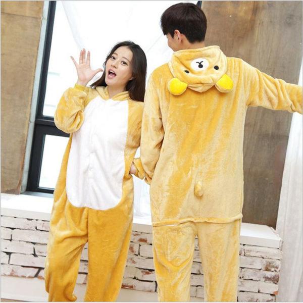Пижама-кигуруми медведь