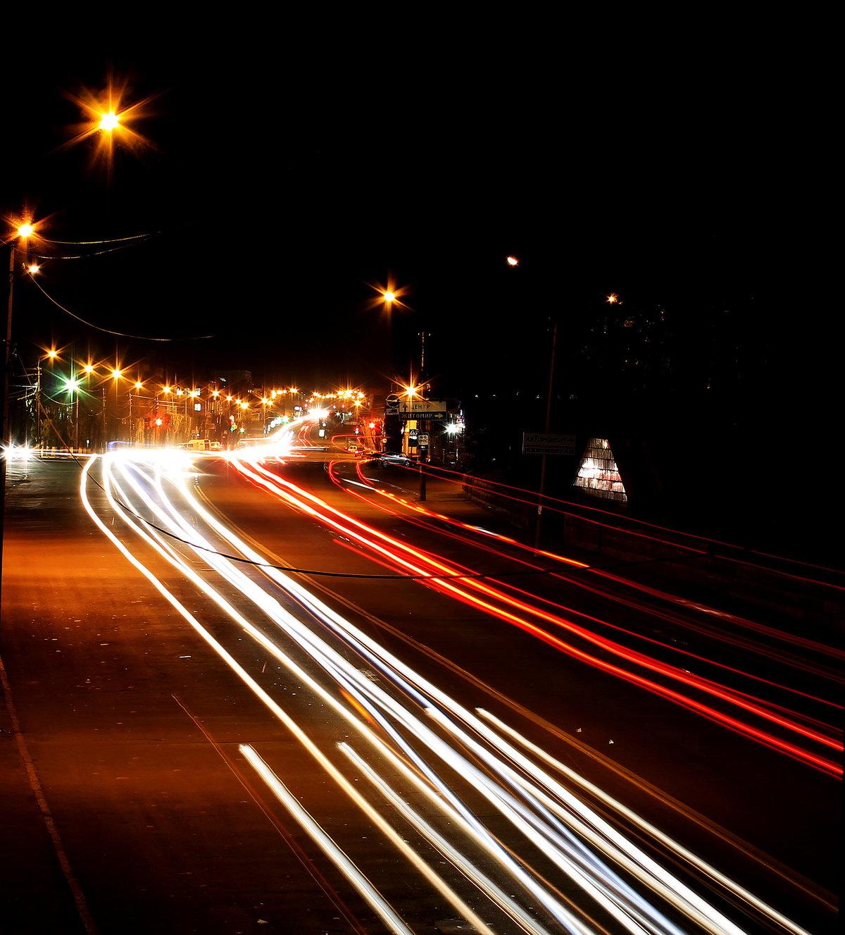 была ночь дорога машина картинки эта машина