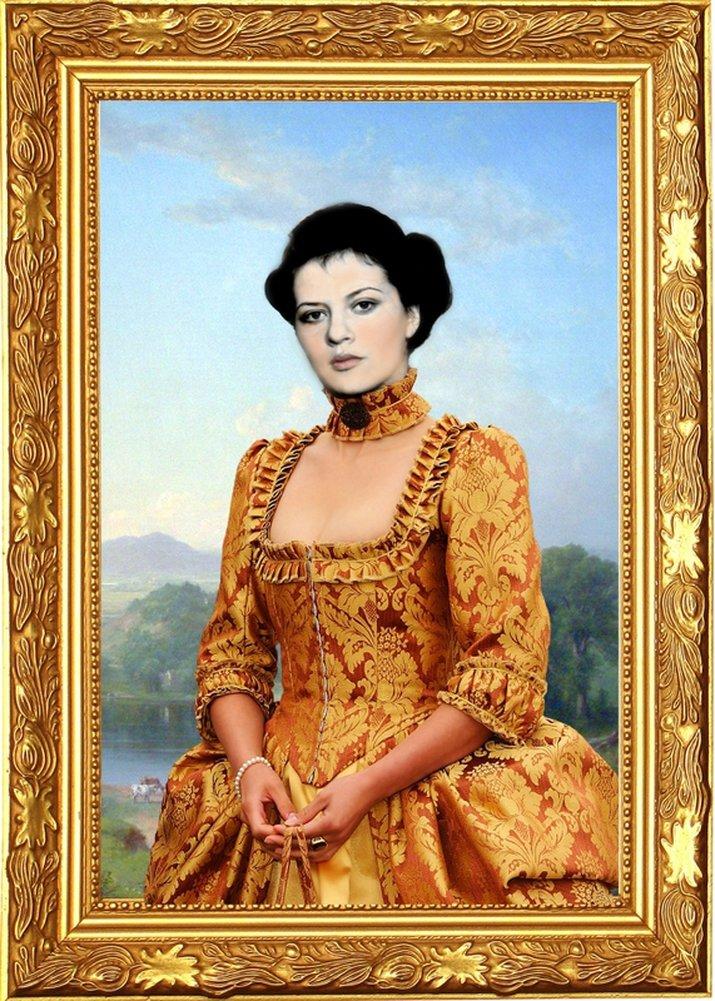 каталог фотомонтажа женские портреты