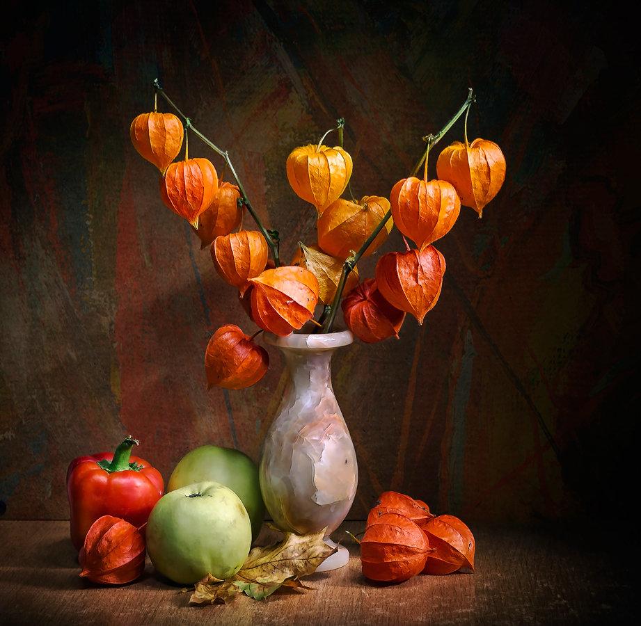 ваза с физалисами картинки семейные традиции связь