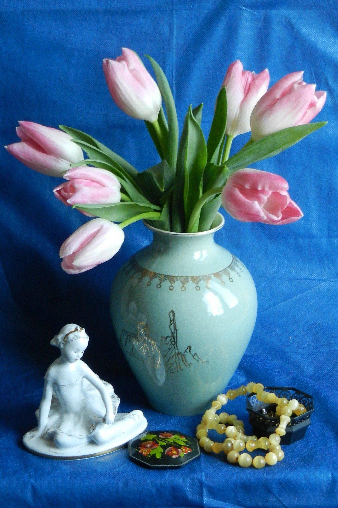 Букет тюльпанов фигурки, купить