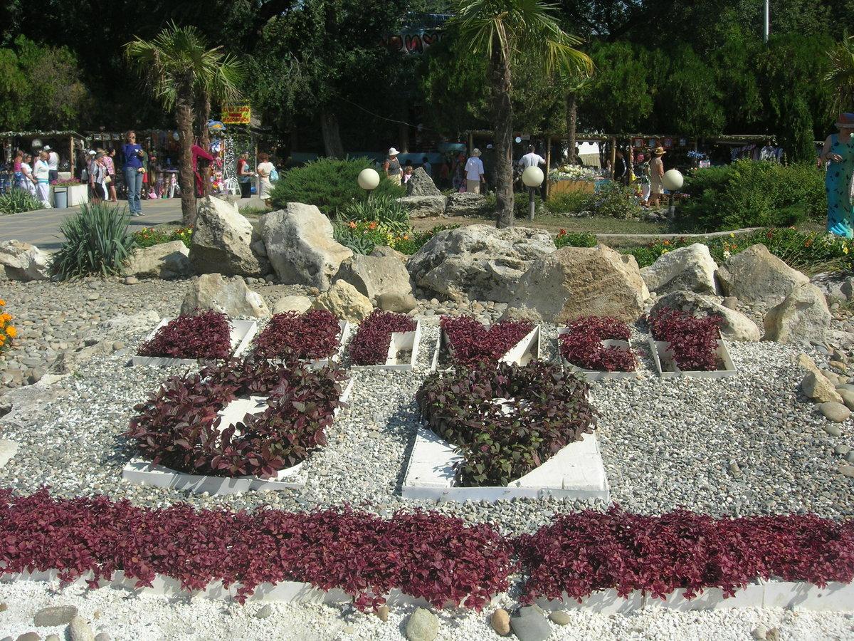 парки анапы фото с описанием
