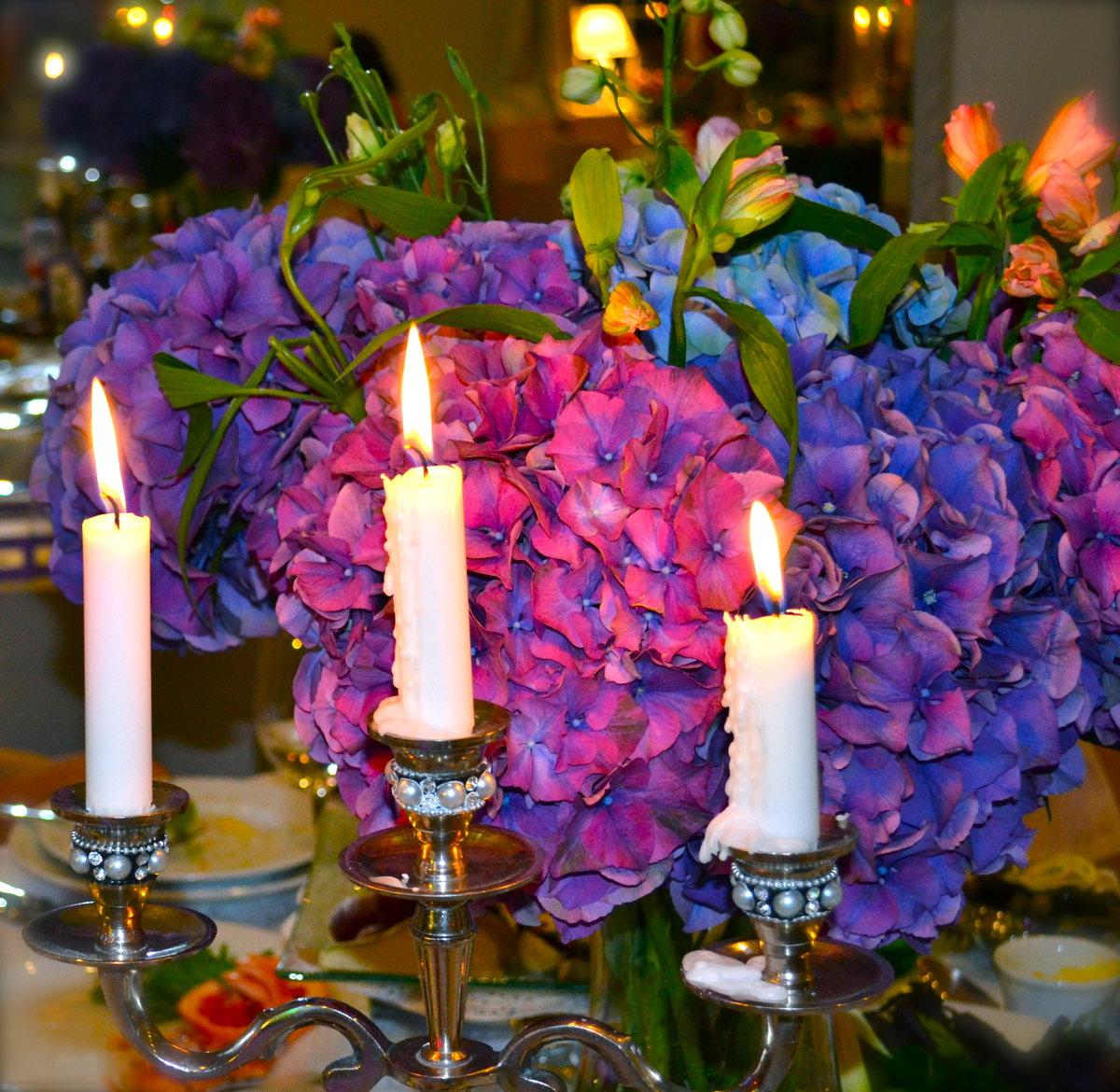 отличие картинки со свечами с цветами новый год