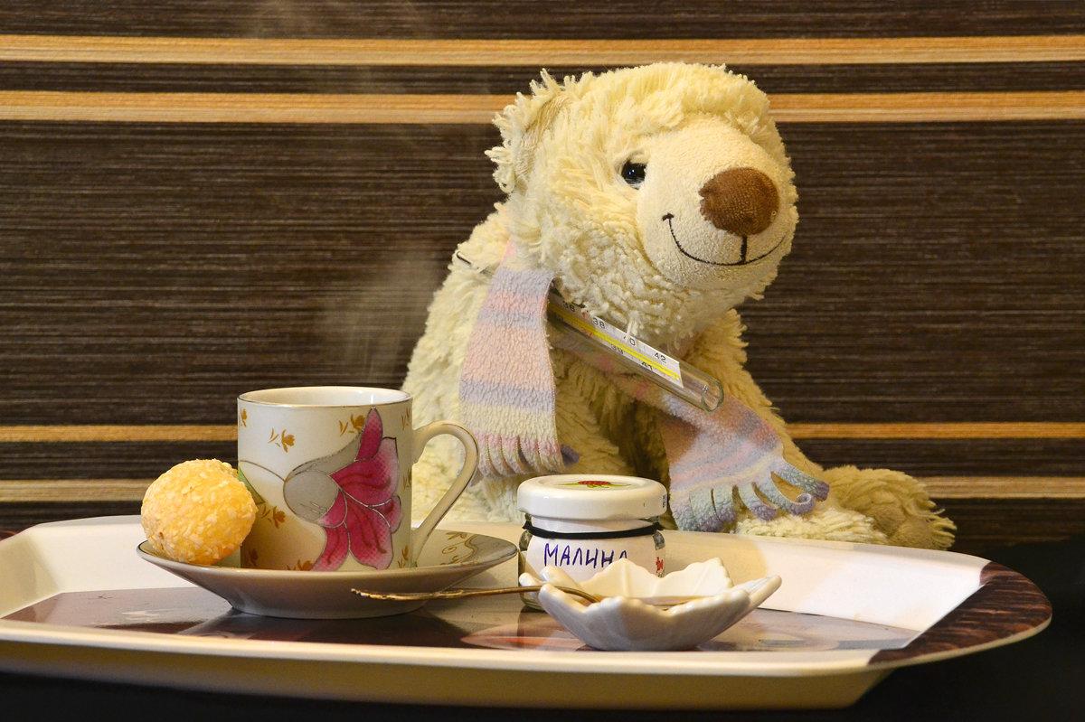 картинки чай и медведь при