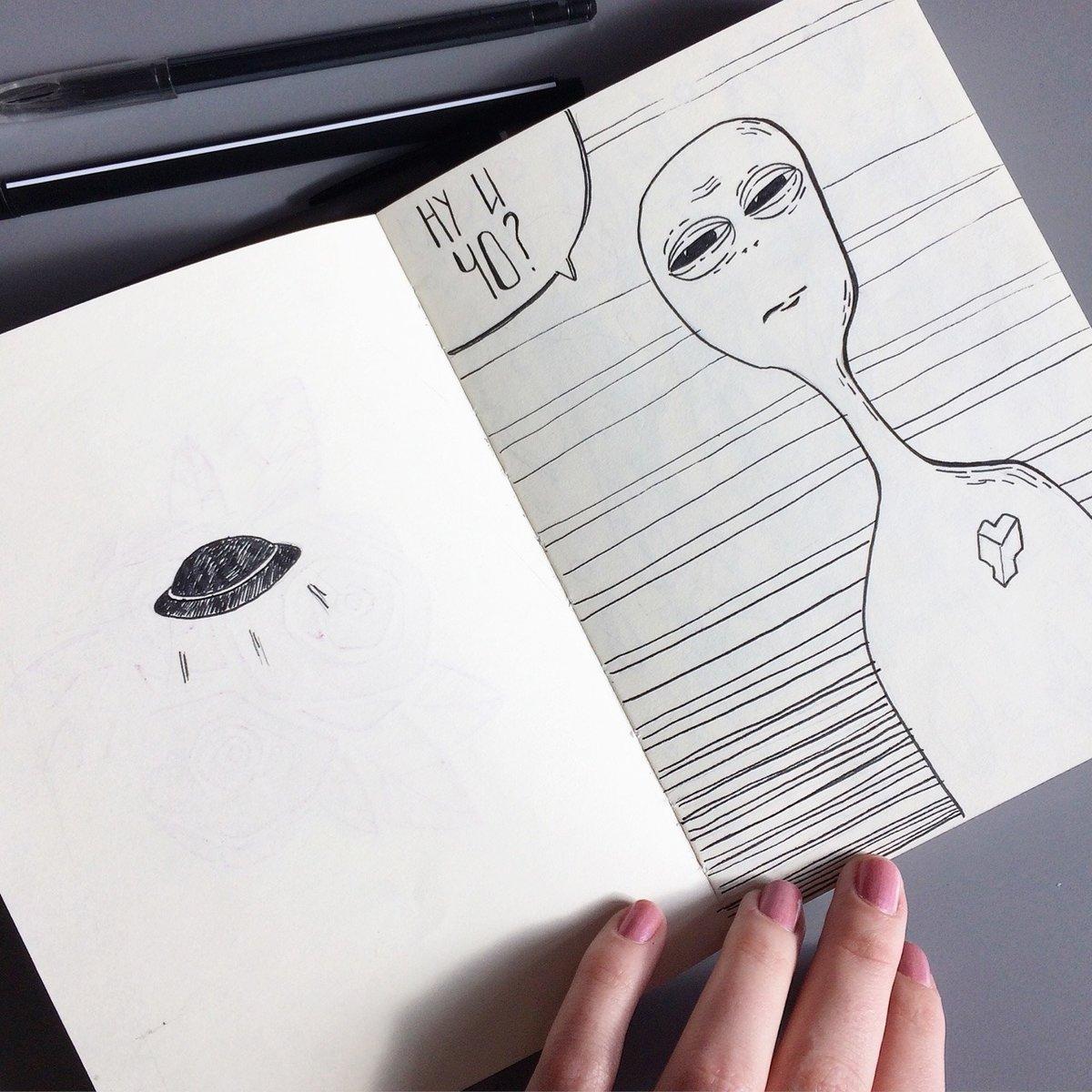 картинки идеи для скетчбука черной ручкой легко милые