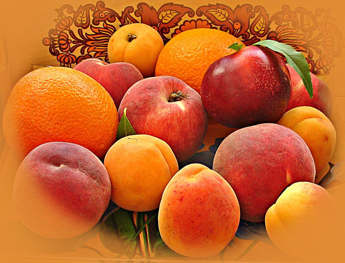 Своими руками, открытки персики