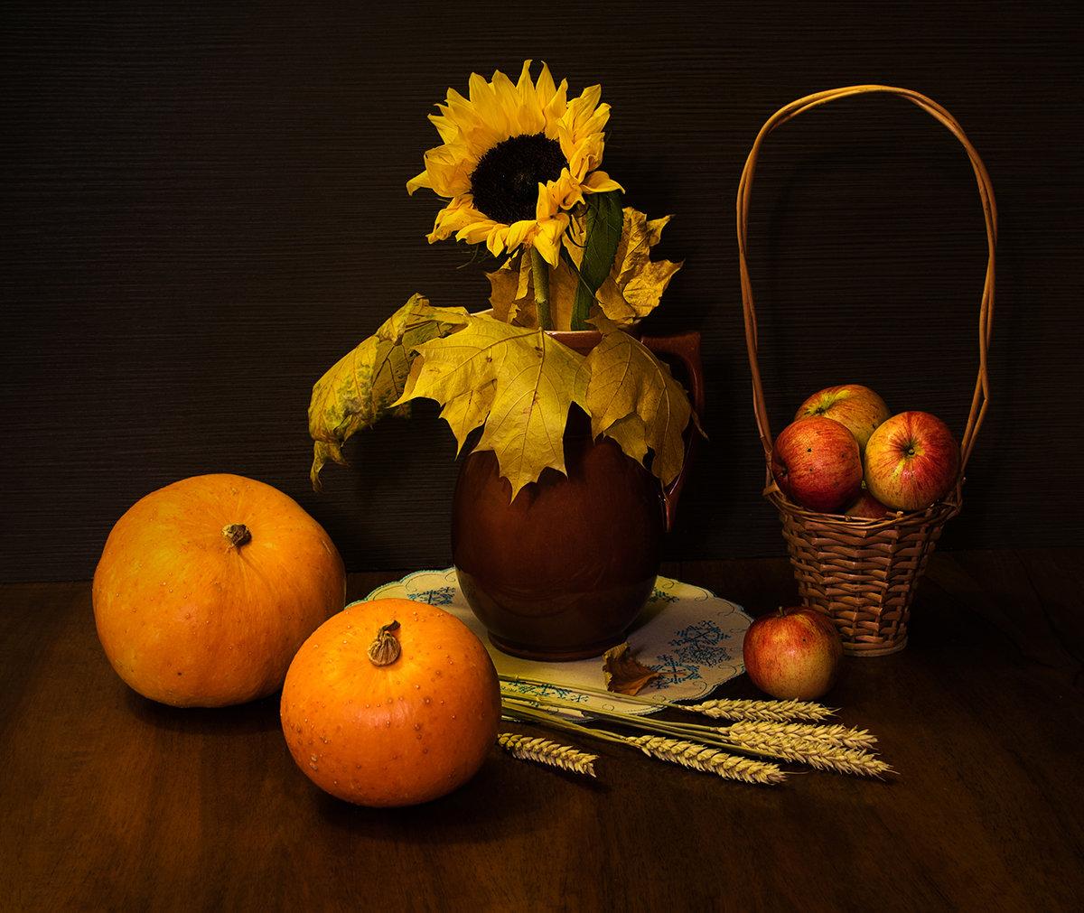 Картинки натюрморта осень