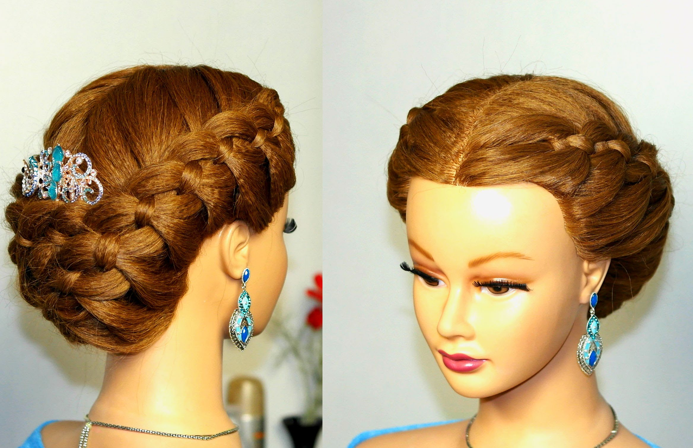 плетение кос на длинные волосы пошагово фото