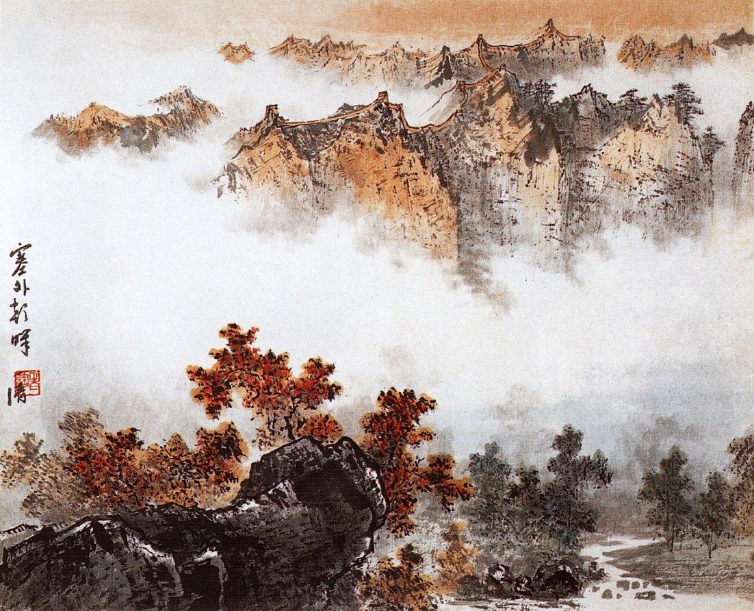 позже модель постеры японский пейзаж представляет