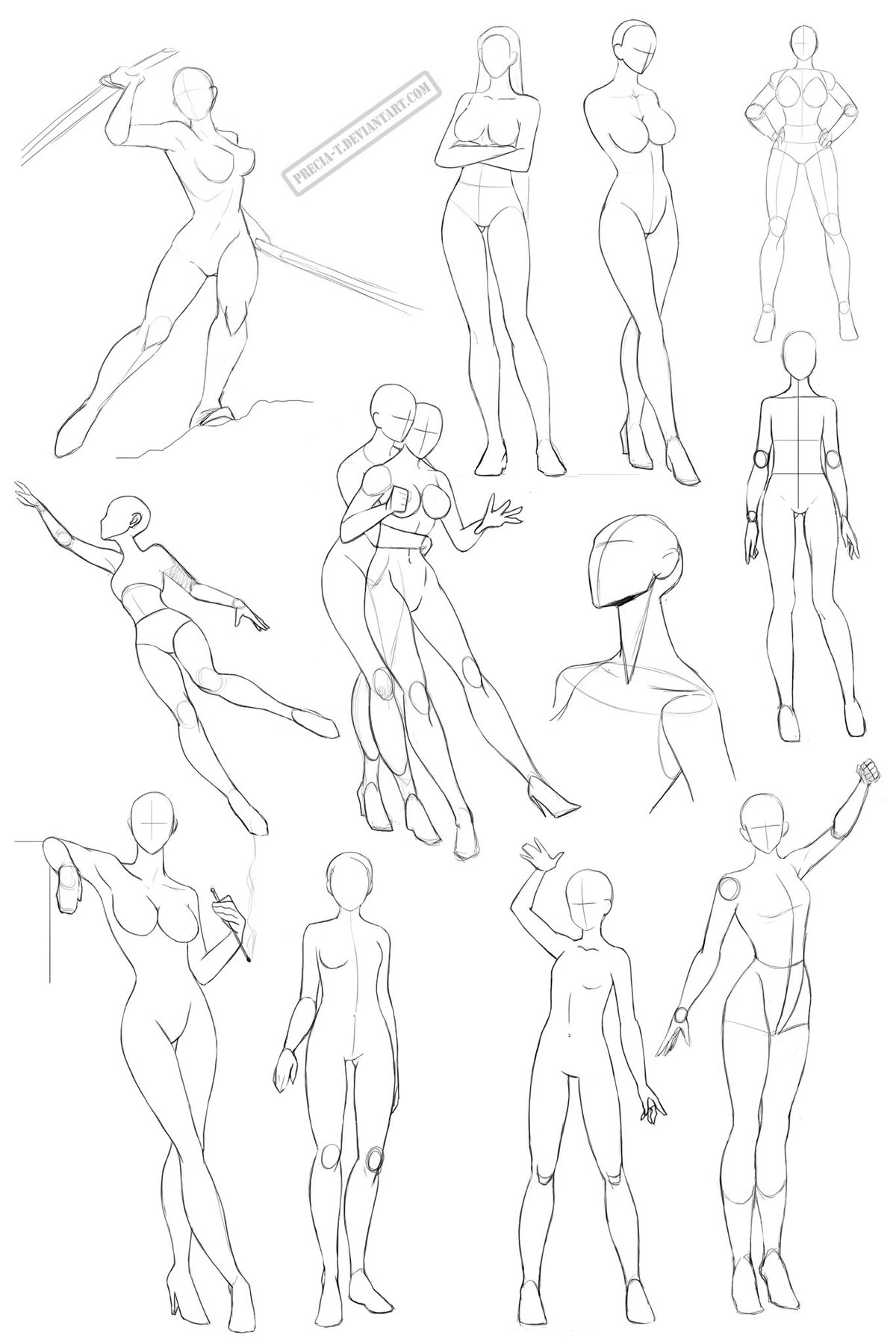 Pin by михаил on draw cartoons pinterest cartoon anime poses pose reference
