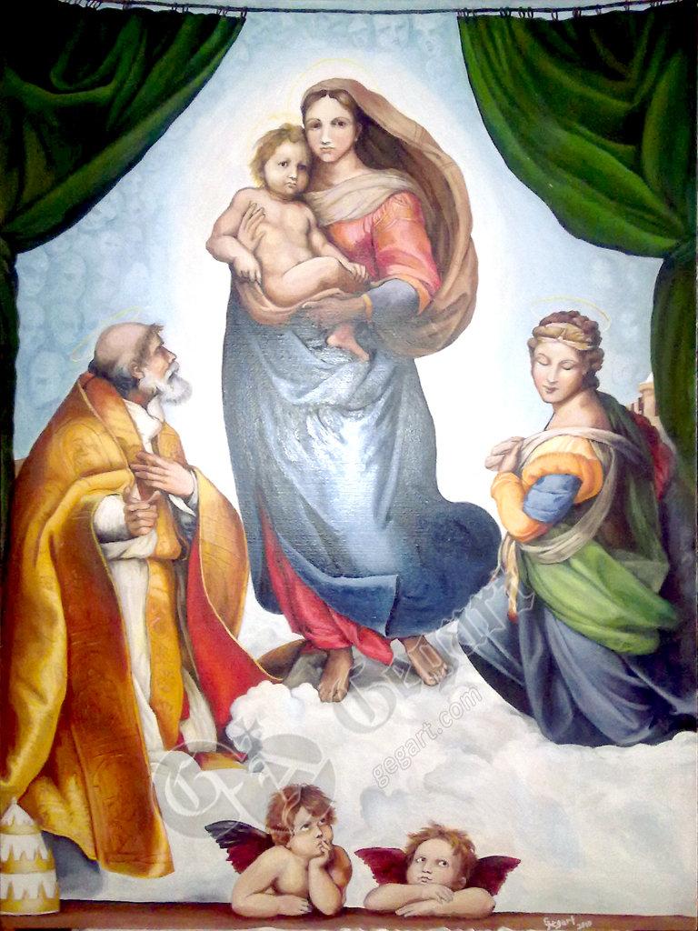 Картина рафаэля секстинская мадонна