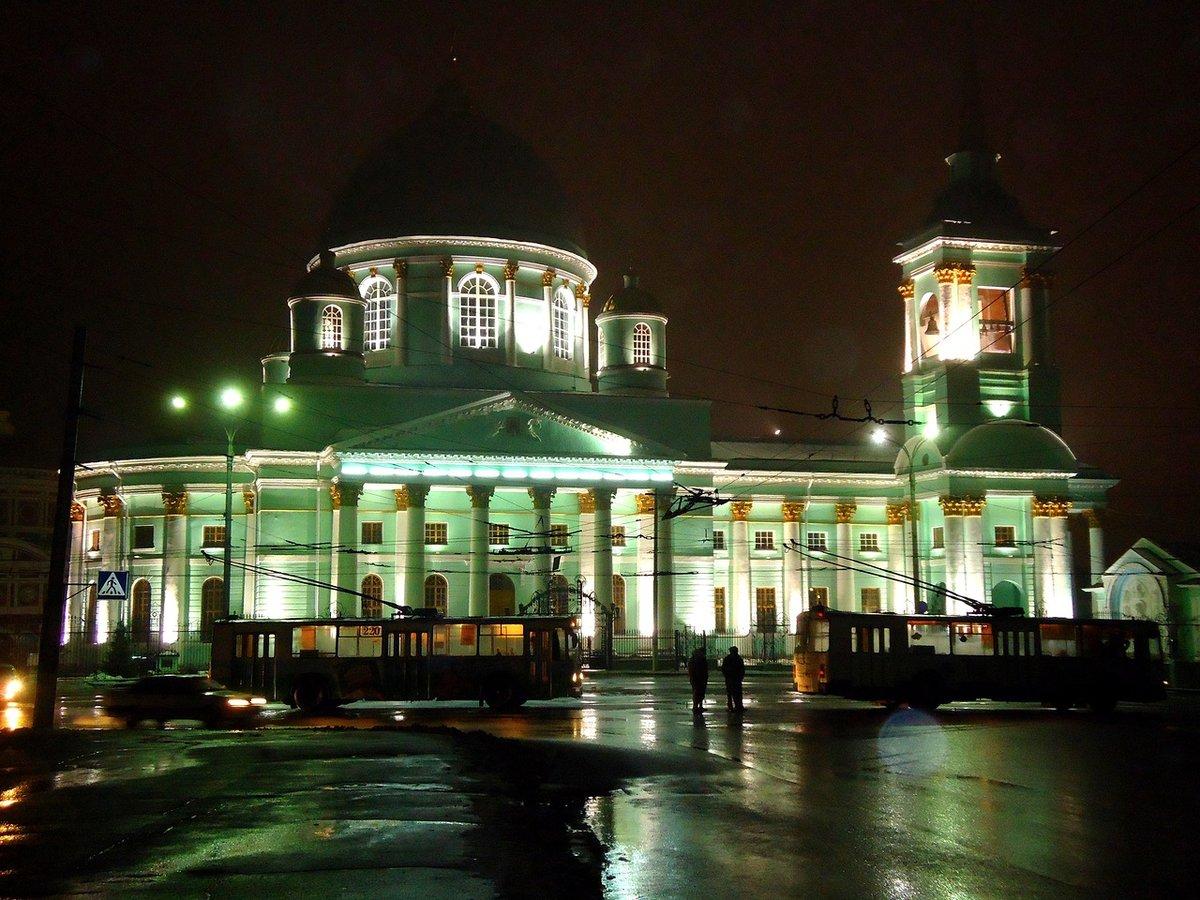 ночной курск фото города