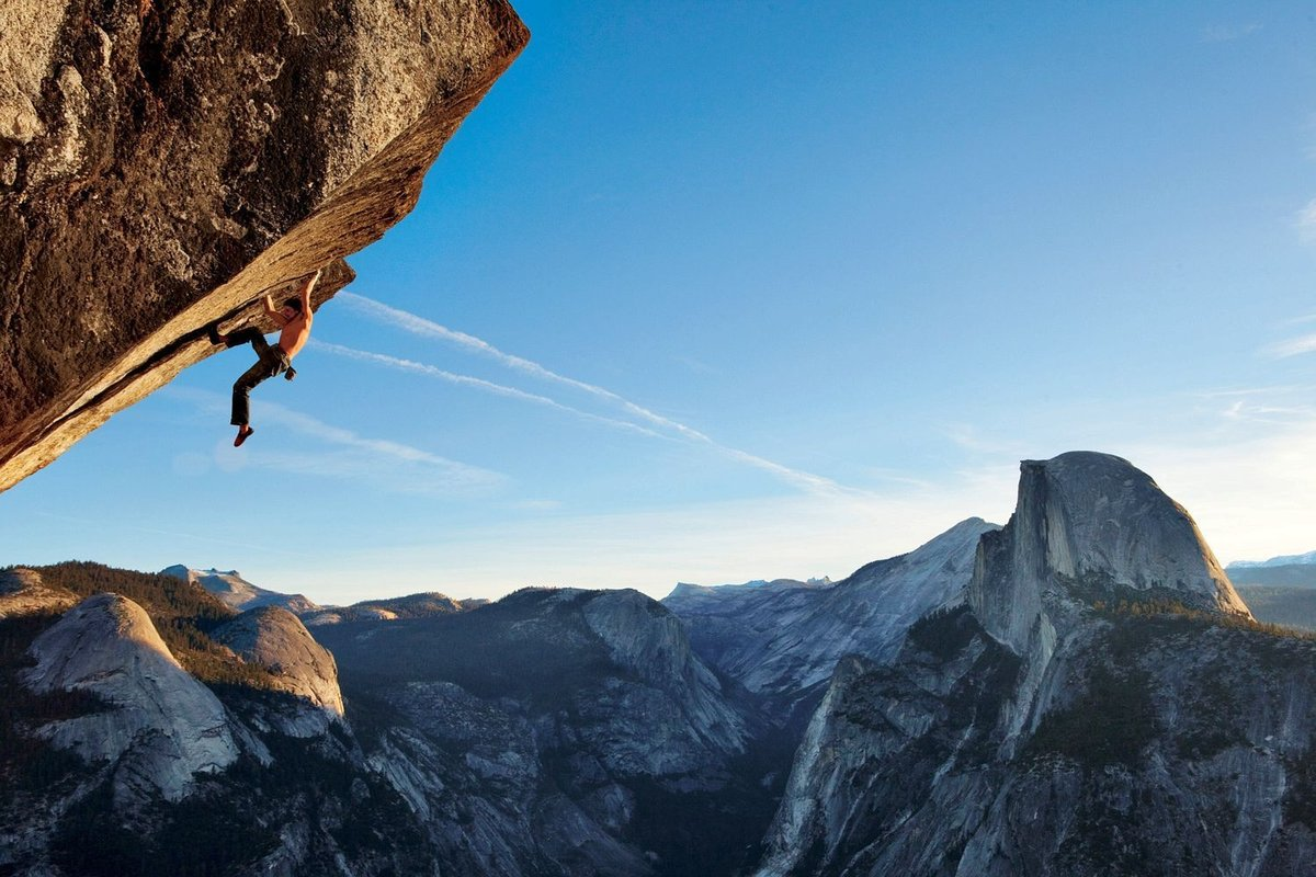 climbing to a better life Here's how rock climbing helps you lead a happier, healthier life rock climbing builds _hplinkable to concentrate better after a 20-minute walk in.