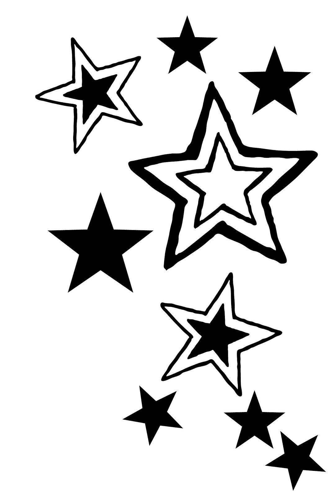 Днем учителя, звезда картинки трафарет