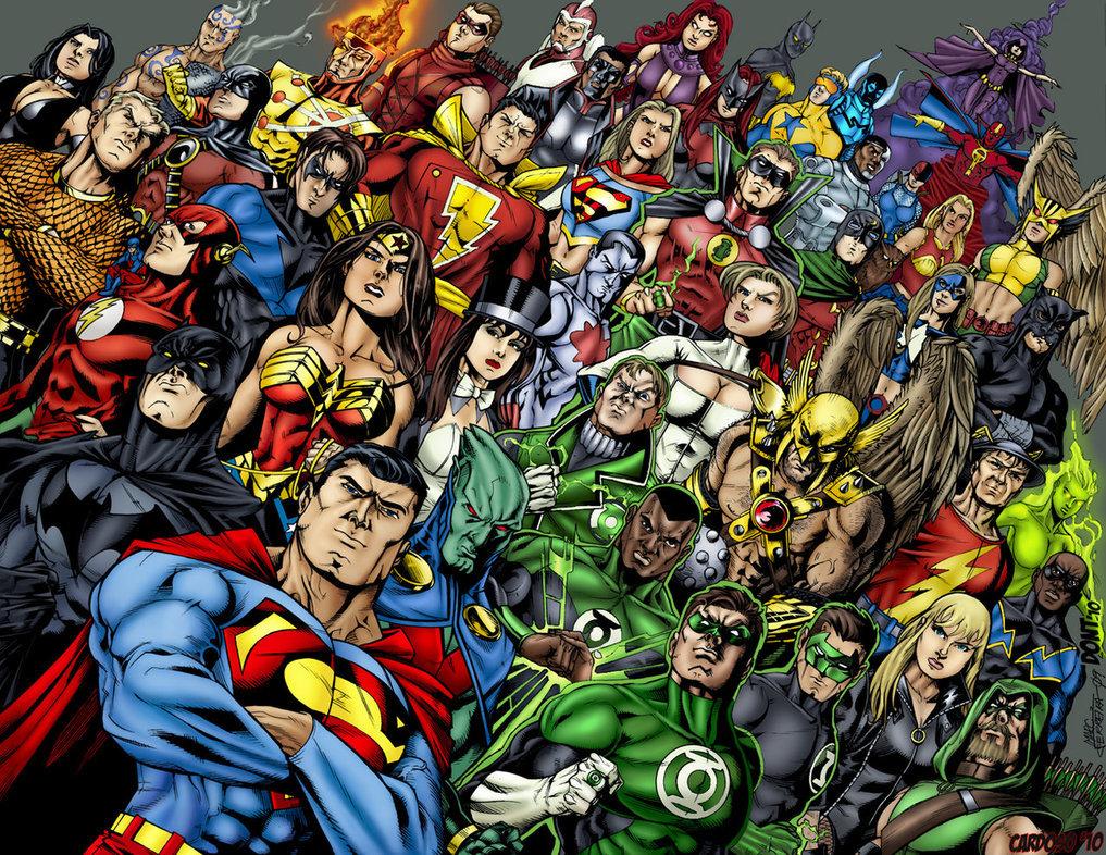 Картинки супергерои в комиксах