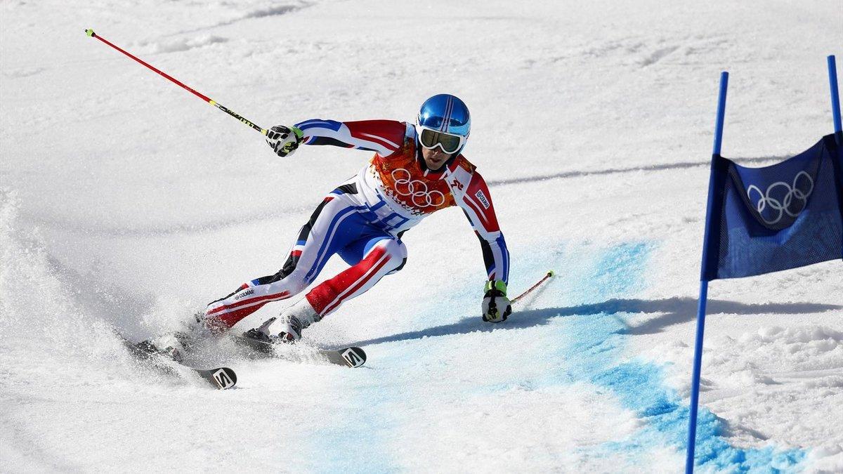 Картинки слалом на лыжах