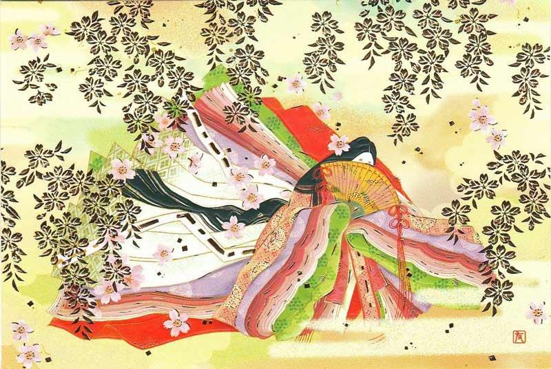 Любимый, японские поздравления открытки