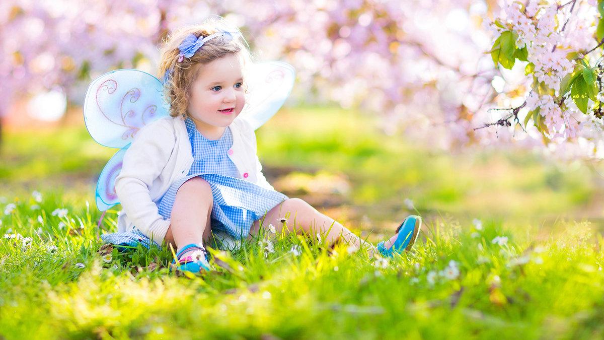 Картинка весны дети