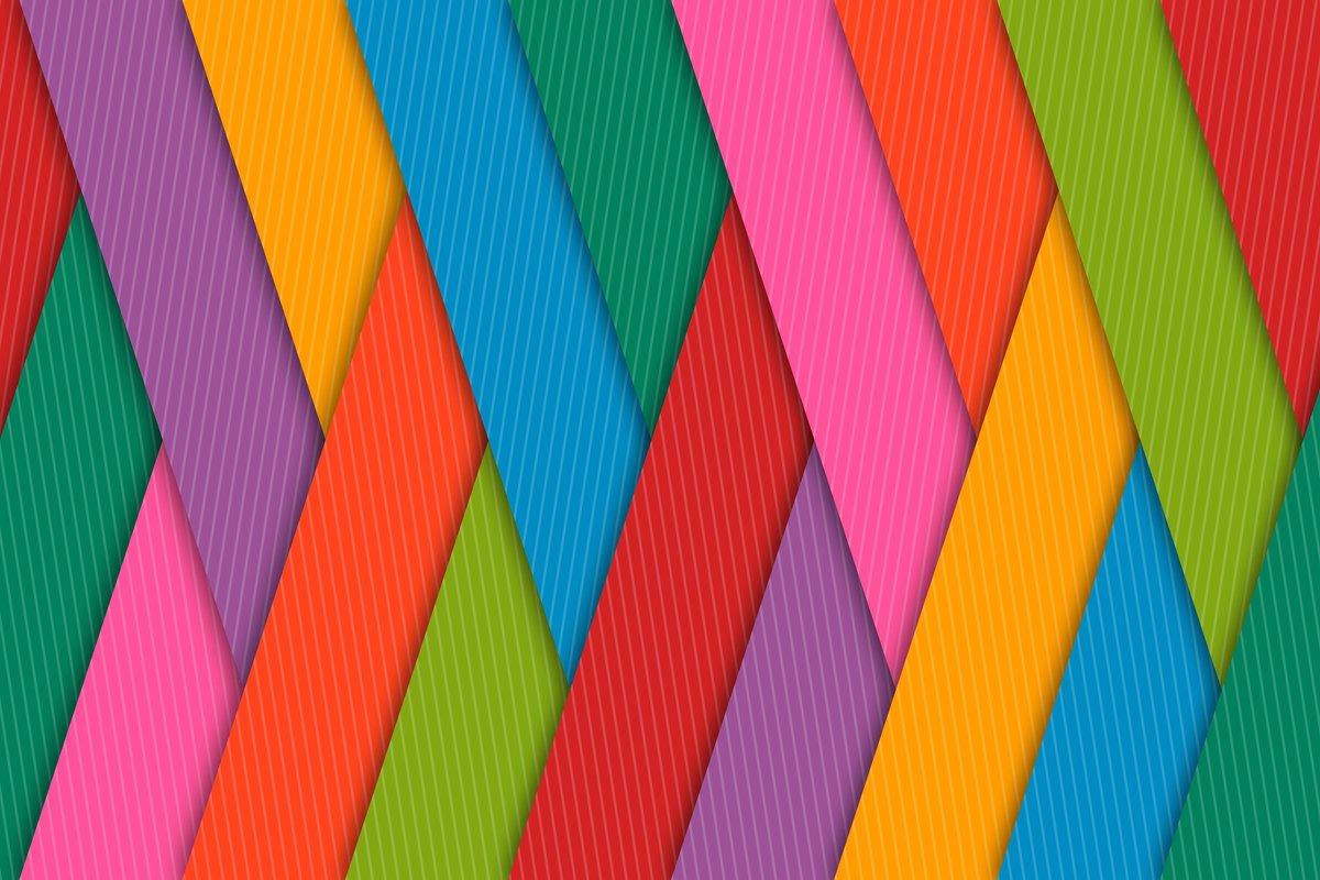 Прикольное поздравление, разноцветные картинки