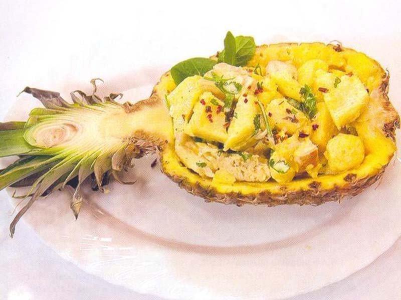 блюдо из ананаса рецепты с фото интернете много