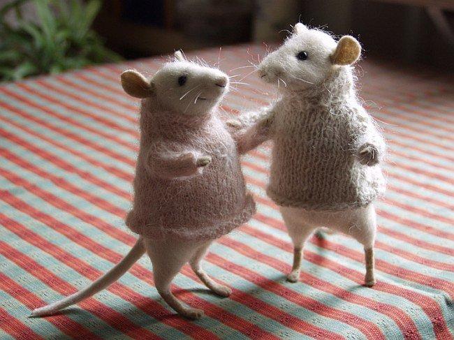 Днем рождения, мышки валяные картинки