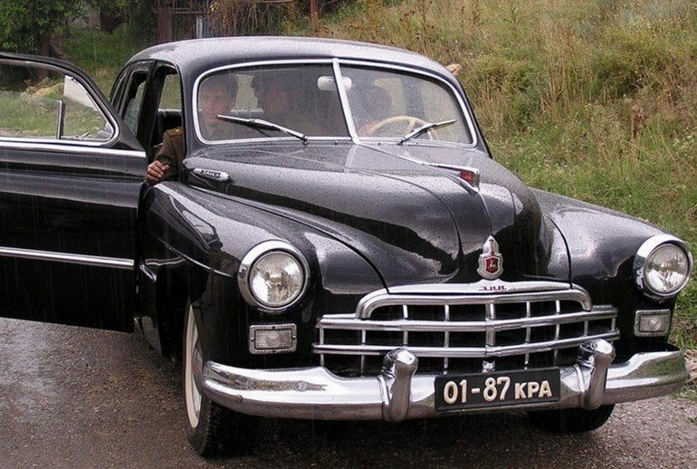 Раритетные советские автомобили фото