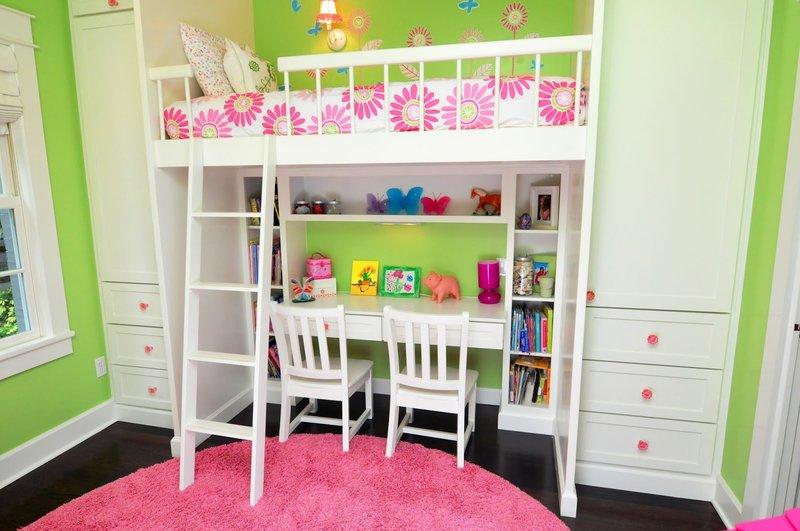 Рабочее место в детской комнате. Всё, что вы хотели знать о дизайне и интерьере детских комнат