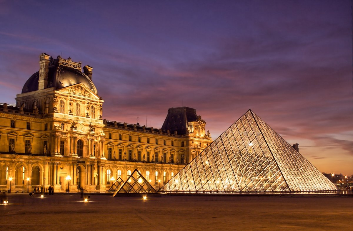 Утренний париж фото высокого спроса