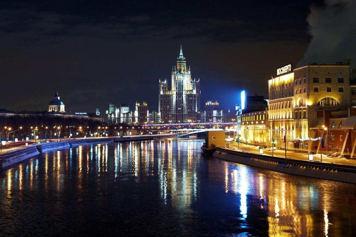 при подозрении картинки города ночью москва ездил