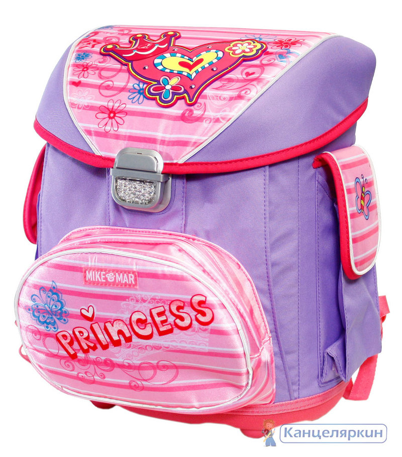 1076 24 рюкзак princess чешские рюкзаки для школы