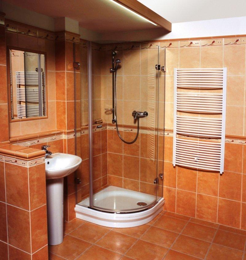 Ремонт ванной комнаты в частном доме фото