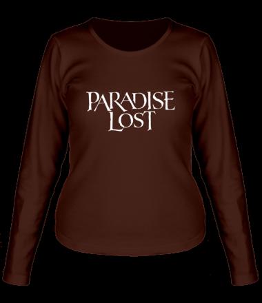 Женская футболка с длинным рукавом Paradise Lost