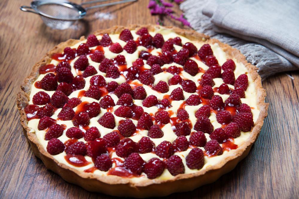 Открытка пирог