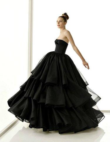 5485be8746b 17 карточек в коллекции «Черные свадебные платья» пользователя zero-686 в  Яндекс.Коллекциях