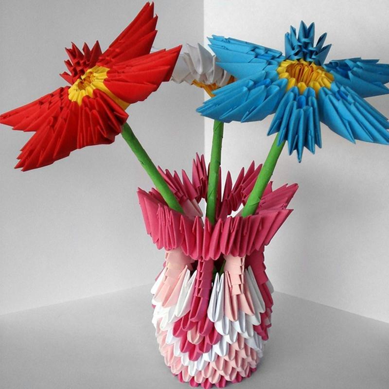 это модульное оригами картинки со схемами цветы охоты