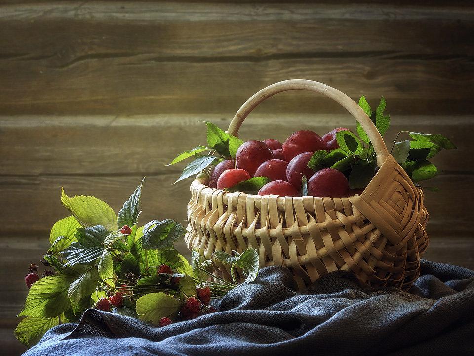 картинки натюрморт с ягодами харьковскими умельцами