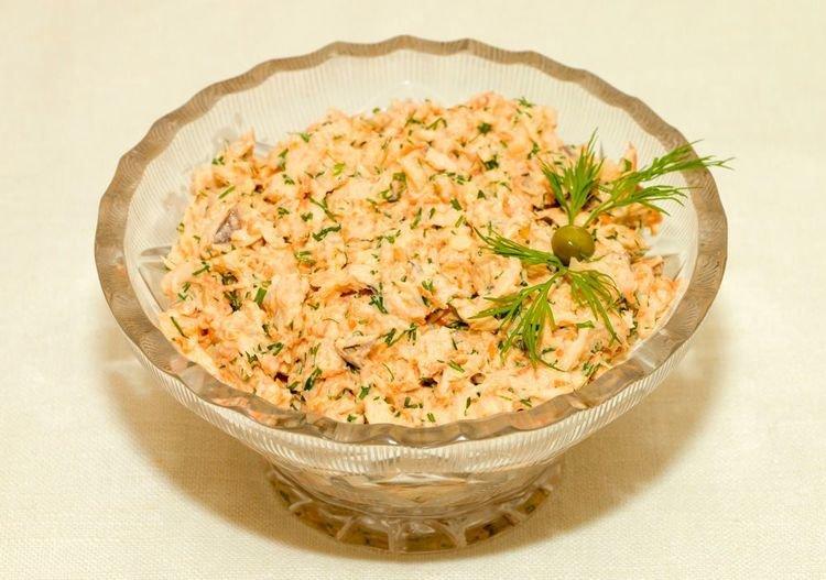 Простые рецепты салатов с бринзой