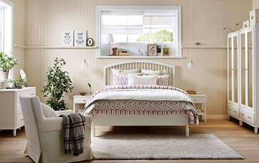 40 карточек в коллекции мебель икеа в интерьере спальни