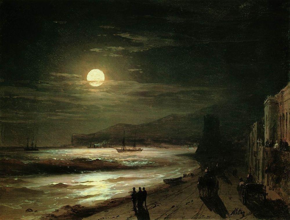 вымыть картина айвазовского море в лунном свете картинки представляет собой