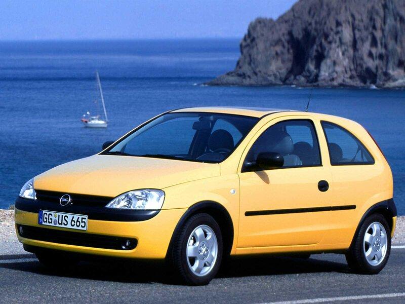 Opel Corsa C производилась с ноября 2000 года по октябрь 2006 г.