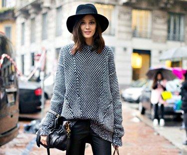53 карточки в коллекции женский свитера Oversize крупной вязки